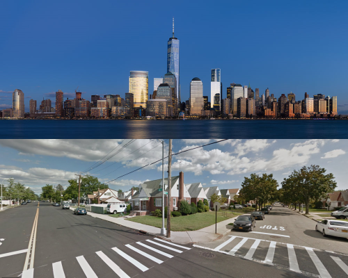 The Skyline versus the Sprawl-line: CO2 Emissions and Building Types in New York City