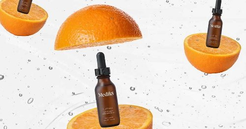 LOOKING ON THE BRIGHT SIDE IS A LOT EASIER WITH A VITAMIN C SERUM