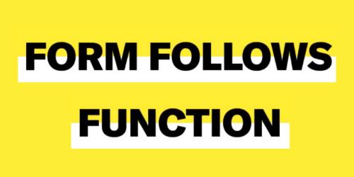 Form Follows Function: Warum ist dieser Ansatz auch heute noch so populär? - Business Punk