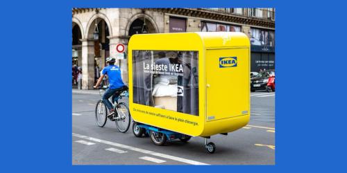 IKEA bietet kostenlos Schlafboxen auf Rädern an