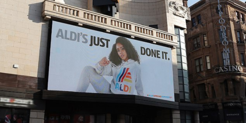 """Aldi's just done it"": Nike bekommt Konkurrenz"