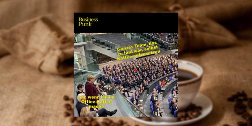 Merkels Abschiedstag liefert die perfekten Office-Memes