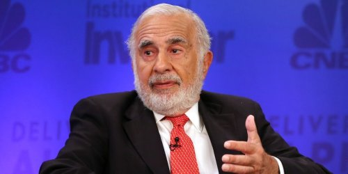 Carl Icahn sees a market 'crisis' brewing and notes bitcoin's potential if inflation spirals