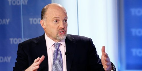 Jim Cramer says he will buy bitcoin again if it falls to near $10,000 - a day after saying he sold nearly all his holdings