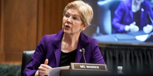 Elizabeth Warren takes aim at high ethereum network fees that she says could wipe out small investors
