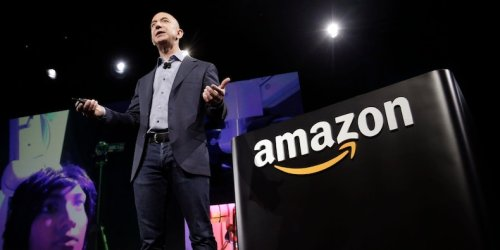 Jeff Bezos shared a note from a couple that bought 2 shares of Amazon in 1997 - and are now using the proceeds to buy a house after the company's 172,499% post-IPO run