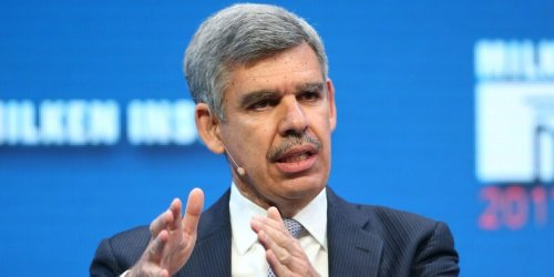 Mohamed El-Erian says investors shouldn't put stimulus checks into the 'most volatile assets'