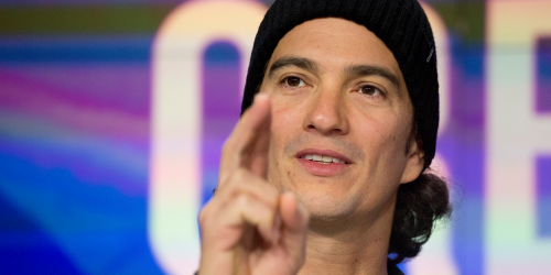 WeWork CEO Adam Neumann told employees he's 'humbled' by the collapse of the firm's IPO