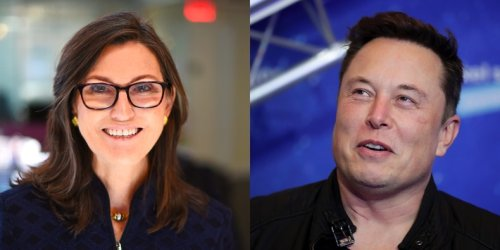 Elon Musk's abrupt reversal on bitcoin conflicts with research from Cathie Wood's Ark Invest that argues mining is actually environmentally beneficial
