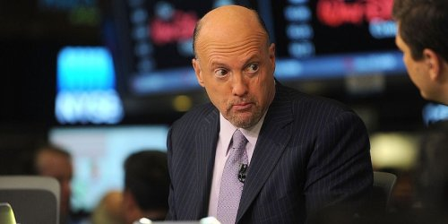 Jim Cramer bought bitcoin when it was worth $12,000 - and said he recently sold half his 'phony' portfolio to pay off a mortgage