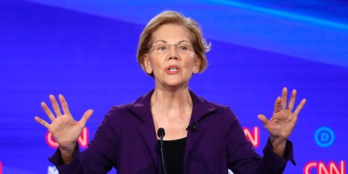 Elizabeth Warren bashed cryptocurrencies' environmental impact, said big tech firms should be broken up, and called for a wealth tax in a new interview. Here are the 8 best quotes.