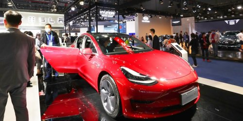 Tesla slips on Evergrande contagion and report of US vehicle regulator concerns over self-driving tech