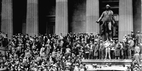 A book dissecting the 1929 stock market crash shows startling similarities to today's euphoric market. Here are 4 examples of how history may be repeating itself.