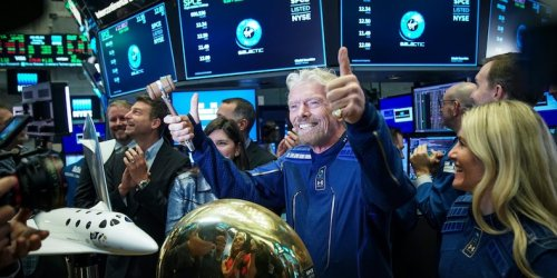 Virgin Galactic falls 9% after founder Richard Branson unloads $150 million stake in the company
