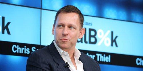 """""""Der ehrlichste Markt, den es gibt"""": Warum es für Milliardär Peter Thiel ein """"hoffnungsvolles Zeichen"""" ist, dass der Bitcoin auf 60.000 Dollar steigt"""