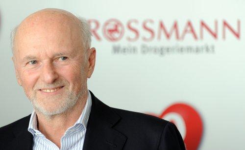"""Dirk Roßmann über Reichtum: """"Ich war viele Jahre ein sehr getriebener Mensch. Reich, aber hoch verschuldet."""""""