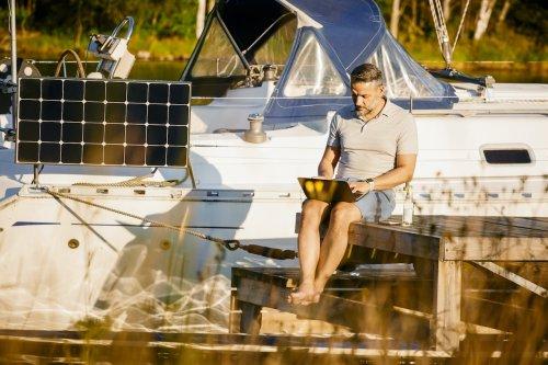 """Arbeiten auf dem Wasser: Boote mit """"Bordoffice"""" sind der neue Trend"""