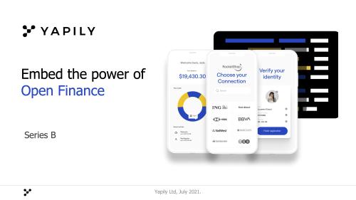 Mit diesem Pitchdeck schnappt sich Yapily 43 Millionen aus dem Silicon Valley und von Lakestar