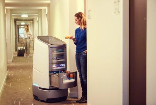 Startup Robotise: Erste Hotelketten stellen auf Service-Roboter um