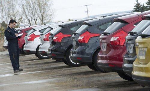Las ventas de automóviles siguen en rojo: en abril se matricularon un 34% menos que en el mismo mes de 2019