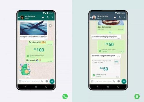 WhatsApp despliega su sistema de pagos en Brasil 10 meses después, tras obtener la autorización del banco central brasileño