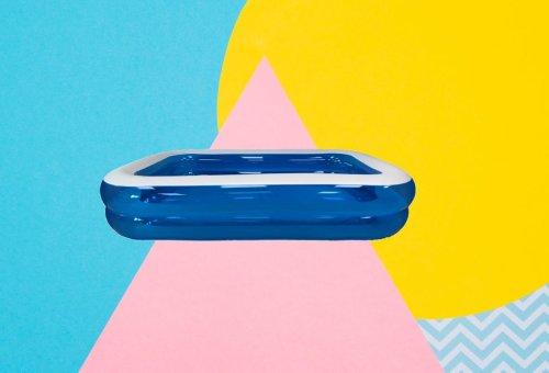 Si quieres una piscina fácil de montar para pasar los días de calor, ahora puedes comprar una hinchable por poco más de 30 euros