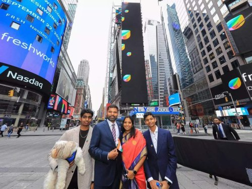 Girish Mathrubootham, the son of a retired bank officer who built a $13 billion company in just 10 years