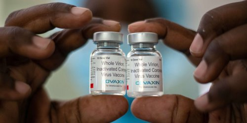 COVAX has received zero shipments - making it 140 million doses short - since March because of India's outbreak