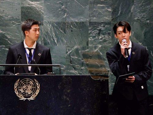 A YouTube video of Korean boy band BTS giving a speech at the UN General Assembly got 6.4 million views. Boris Johnson's speech got less than 4,000 views.