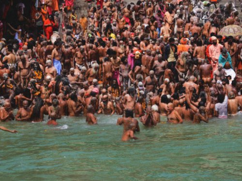 Around 1,700 people test positive for COVID-19 in Hardiwar Kumbh Mela from April 10-14