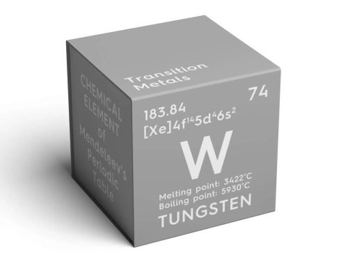 Crypto traders are bidding to own an NFT so they can touch a 'pleasurable' 2,000-pound tungsten cube