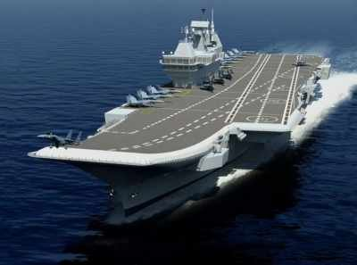 INS Vikrant, the first made-in-India Aircraft Carrier worth nearly $3.5 billion is on for its maiden trial