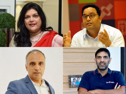 These are some of the highest paid founders of Indian startups tapping capital markets this year