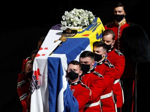 Prince Philip's coffin was lowered into the Royal Vault at Windsor Castle, but he'll be moved again when the Queen dies
