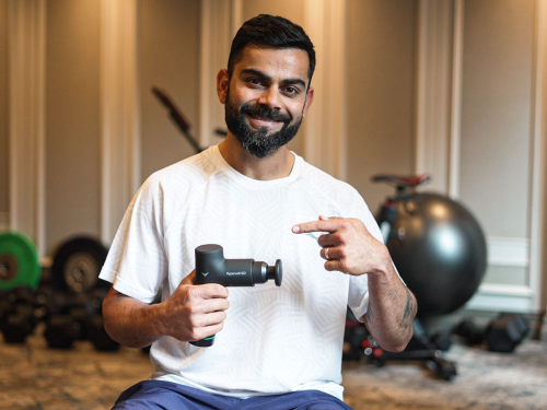 Hyperice makes its foray into India; onboards Virat Kohli as its first brand ambassador and athlete investor