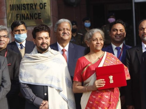 GST Council may consider merging the 12% and 18% tax slab in the next meeting, says Finance Minister Nirmala Sitharaman