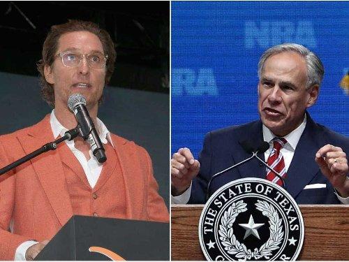 Hollywood star Matthew McConaughey has a double-digit lead over Gov. Greg Abbott in latest Texas gubernatorial election poll