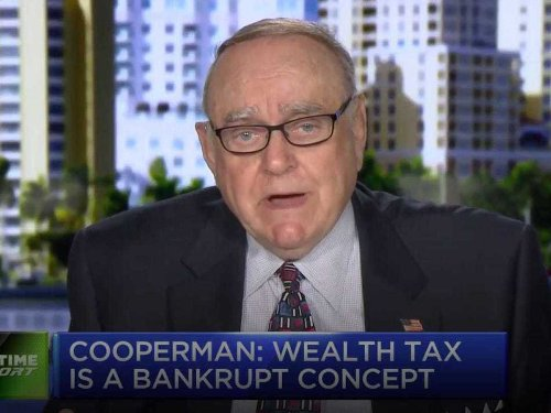 Billionaire Leon Cooperman rejects Elizabeth Warren's invitation to testify on a possible wealth tax