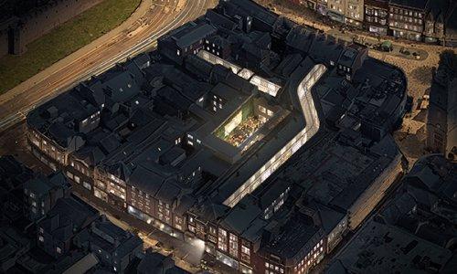 Secret Courtyard Breathes New Life into Cardiff Arcades