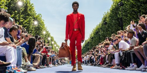 A Cautious Return to the Runway in Paris
