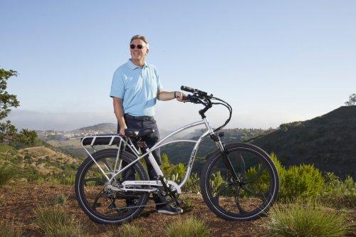 Don DiCostanzo with Pedego Electric Bikes