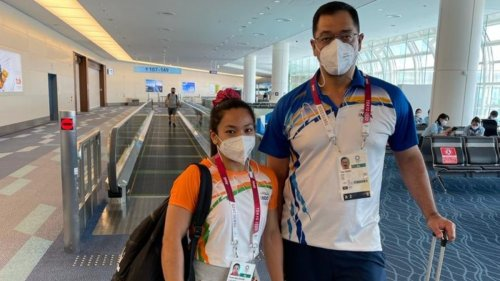Tokyo Olympics: Silver-medalist Mirabai Chanu lands in New Delhi with a warm welcome