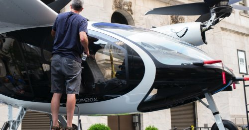 Look: This futuristic eVTOL helicopter is ready for flight tests