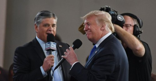 Sean Hannity would hate for you to think he did the right thing