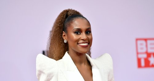 Issa Rae's Wedding Dress Looks Like It Was Straight Out Of A Fairytale
