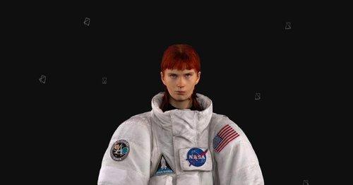 Balenciaga's insane NASA jackets make you look like a real astronaut
