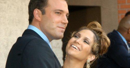10 Cute Throwback Photos Of Ben Affleck & Jennifer Lopez As A Couple