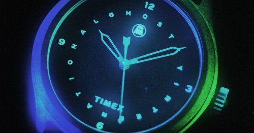 Ghostly and Timex made a glow-in-the-dark watch for electronic music heads