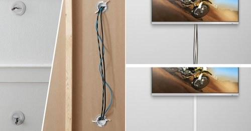 These Are The Easiest Ways To Hide Those Pesky TV Cables