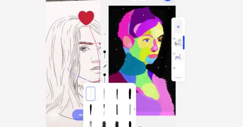 This app lets people draw, mint, and auction NFTs instantly